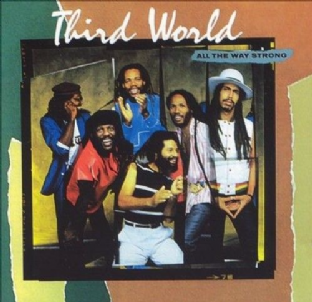 Third World - All The Way Strong (LP) (VG-EX/VG)
